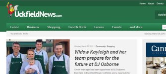 Uckfield News : Website Design