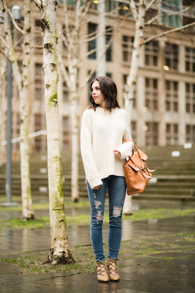 Minimalist fashion blogger Seattle Pipe and Row