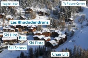 Les Rhododendrons Location Plagne 1800 La Plagne 2015