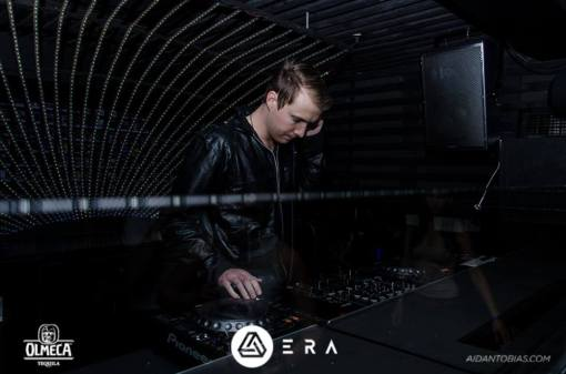 Headphase in the techno tunnel at Era, Cape Town