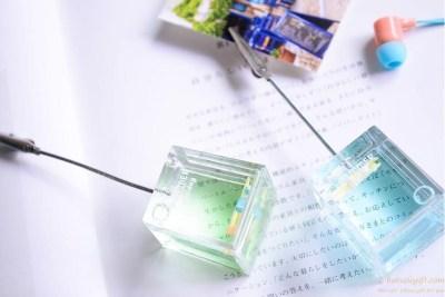Square oil resin place card holder wedding favor OEM logo | Hot Sale Gift