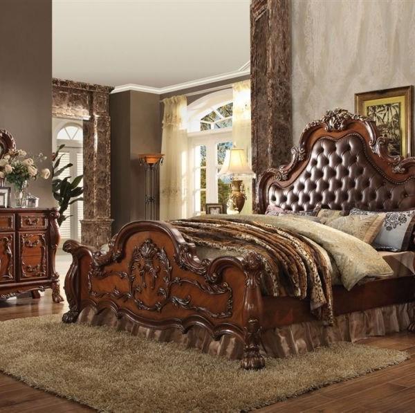 Acme furniture queen bedroom set cherry oak 23140q hot for Sexy bedroom sets