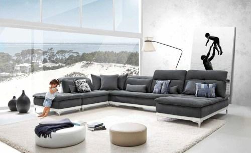 Medium Of Modern Sectional Sofa