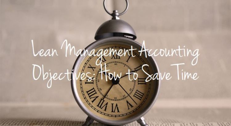Lean management accounting objectives title picture