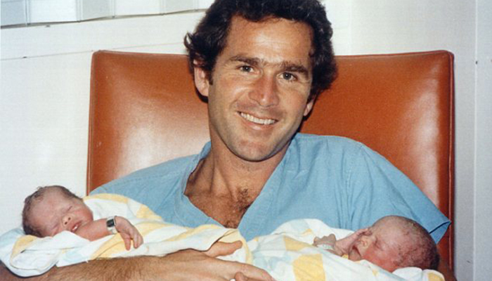 Young George W Bush
