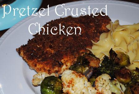 Pretzel Crusted Chicken | Hottie Biscotti
