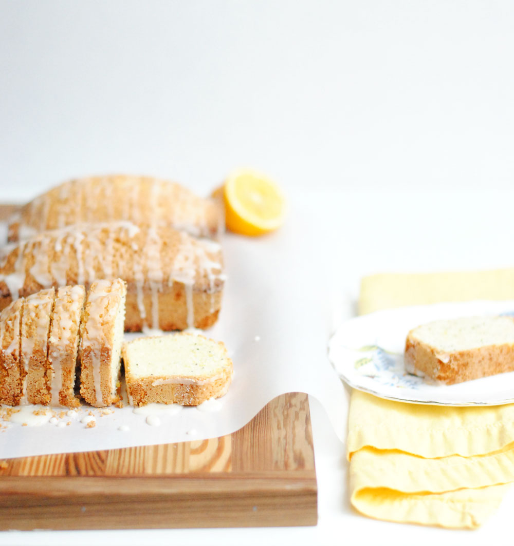 Mini Meyer Lemon Poppy Seed Pound Cakes | Hottie Biscotti