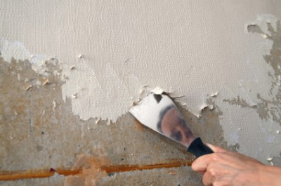 Removing Painted Wallpaper - The Practical House Painting Guide