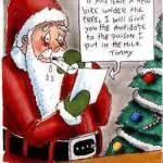 Santa's Ransom Note