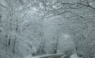Snowy country roads - feature image