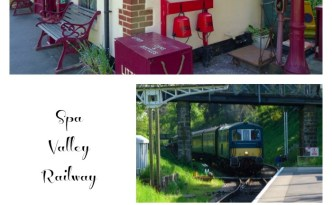Spa Valley Railway Collage
