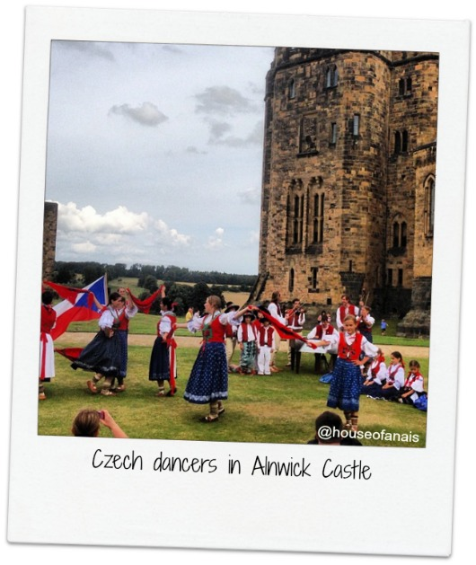 Czech dancers Alnwick Castle