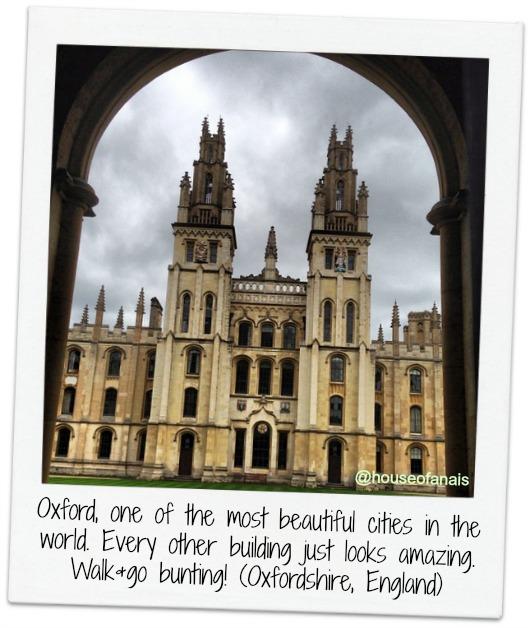 Oxford walks