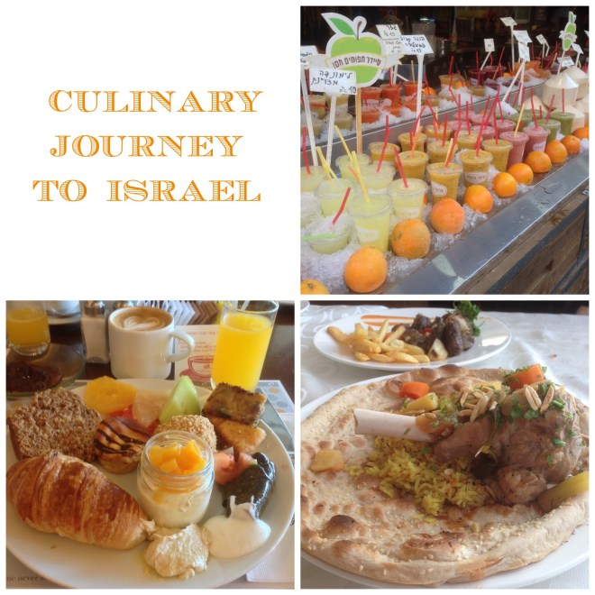 Culinary journey Israel