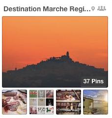 Marche region pinboard