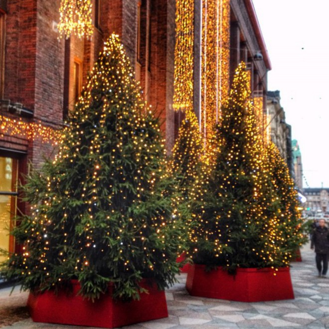 Stockmann xmas lights