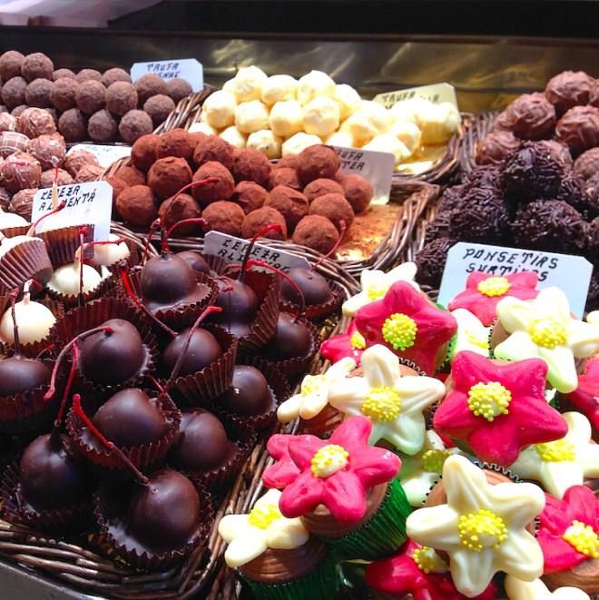Sweet delights in Barcelona
