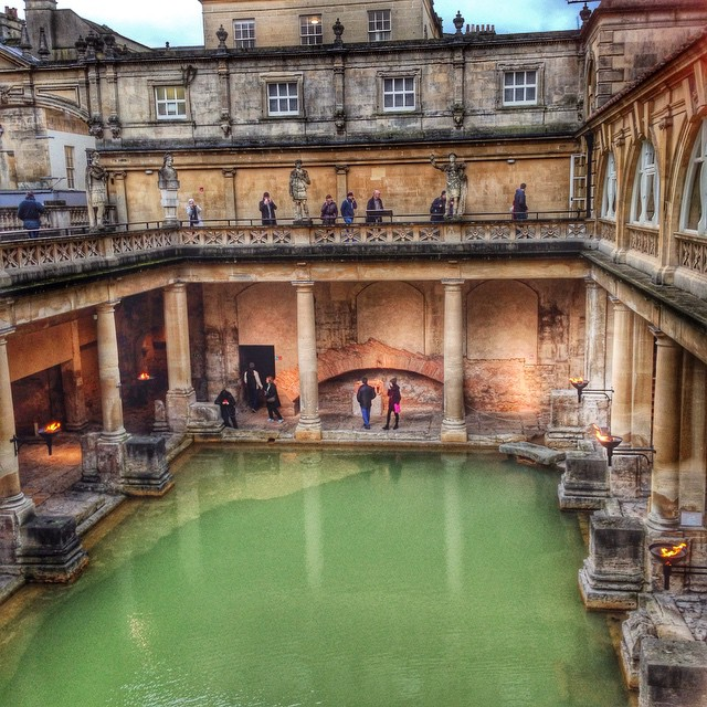 Roman Baths, in Bath
