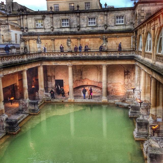 Roman Baths, in Bath