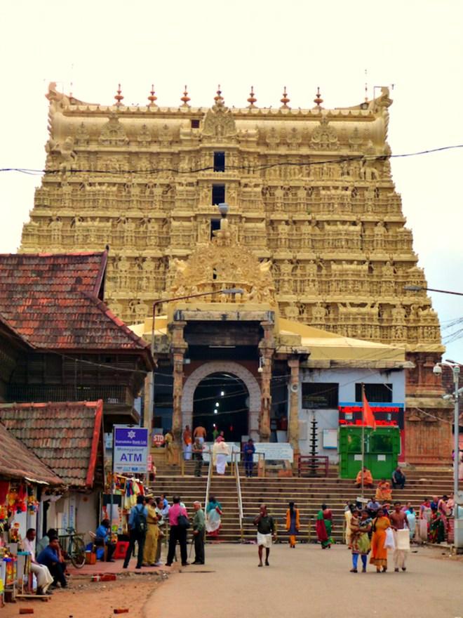 Golden temple of Padmanabhaswamy