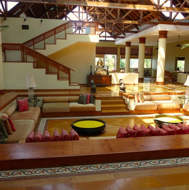Leela Hotel lobby