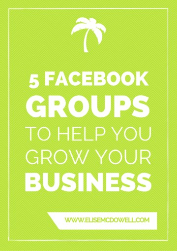 Want to know the best facebook groups that will help grow your business? Try these out!