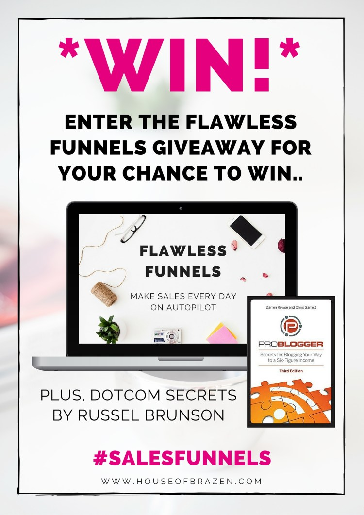 The Flawless Funnels Giveaway