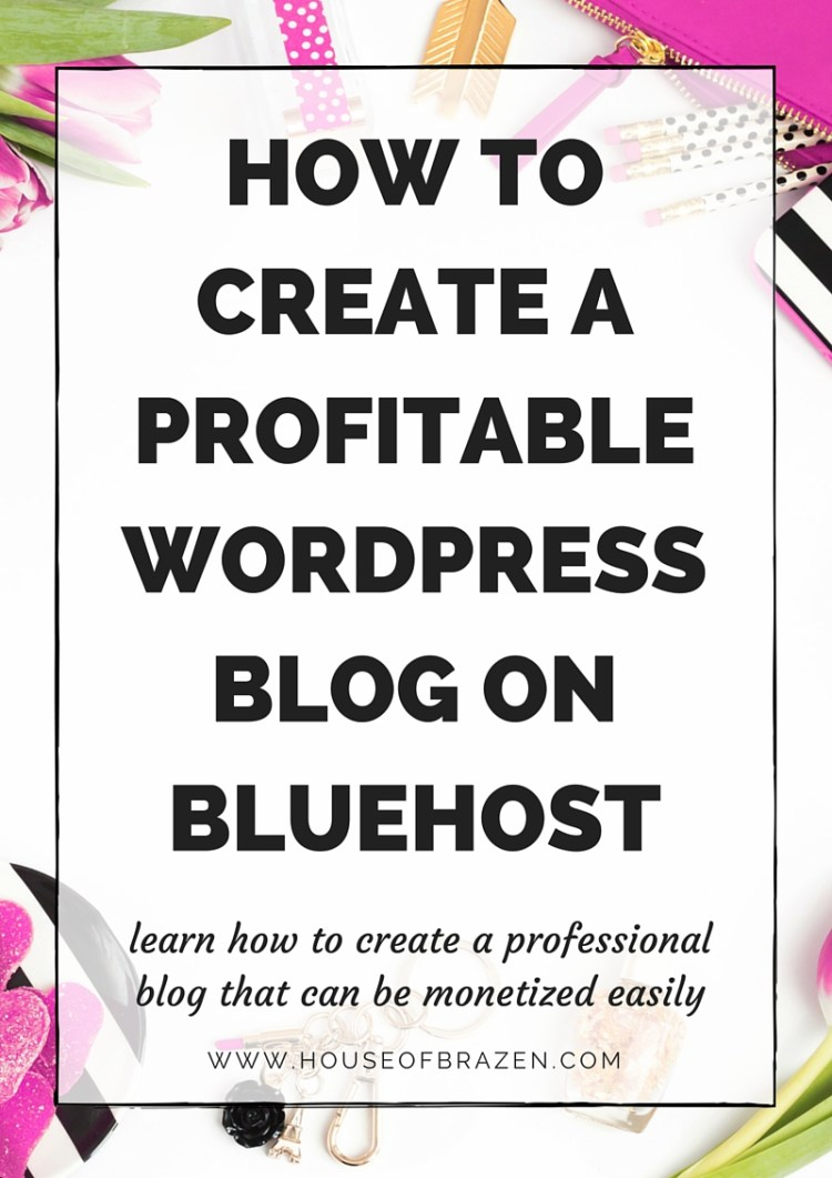 How to Create A Wordpress Blog Through Bluehost