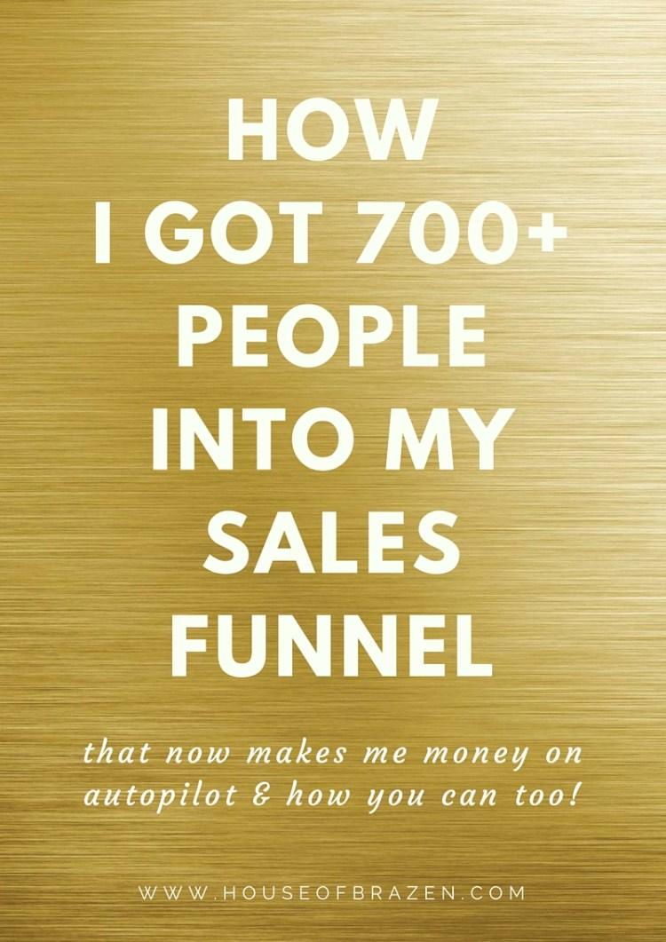 sales funnel strategy secrets
