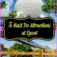 5 Must Do Attractions at Epcot
