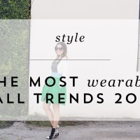 VIDEO: THE TOP 5 MOST WEARABLE TRENDS FOR FALL 2016