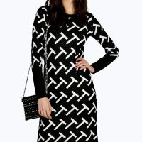 boohoo-black-cardigan-t-dress