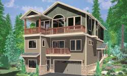 Small Of House Plans For Narrow Lots