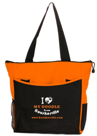 """I LOVE MY DOODLE FROM HOUSKERVILLE"" Tote Bag"