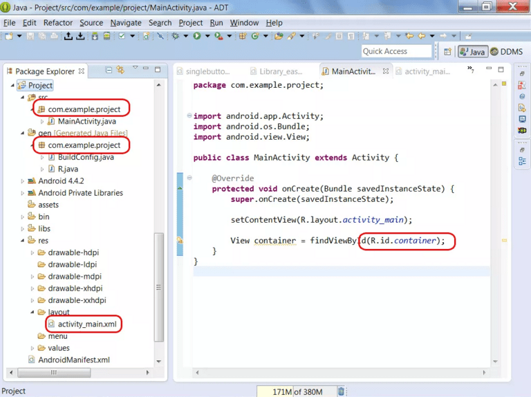 Android R Cannot Be Resolved To A Variable Hoverdroids