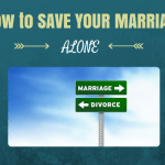 how to save marriage alone