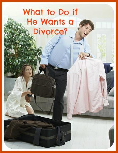 my husband wants a divorce