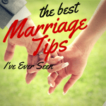 best marriage tips