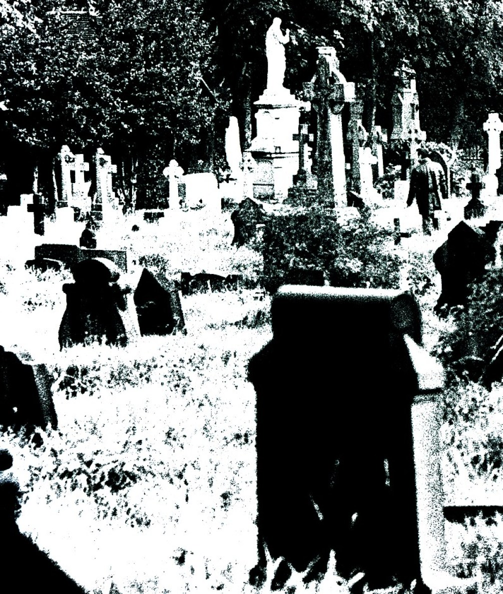 Howard Fricker Photography Scolemoor Cemetery Black and White