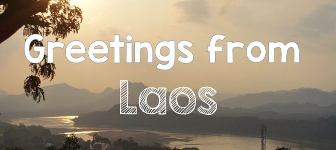 Greetings from Laos – Digital Postcard Delivery