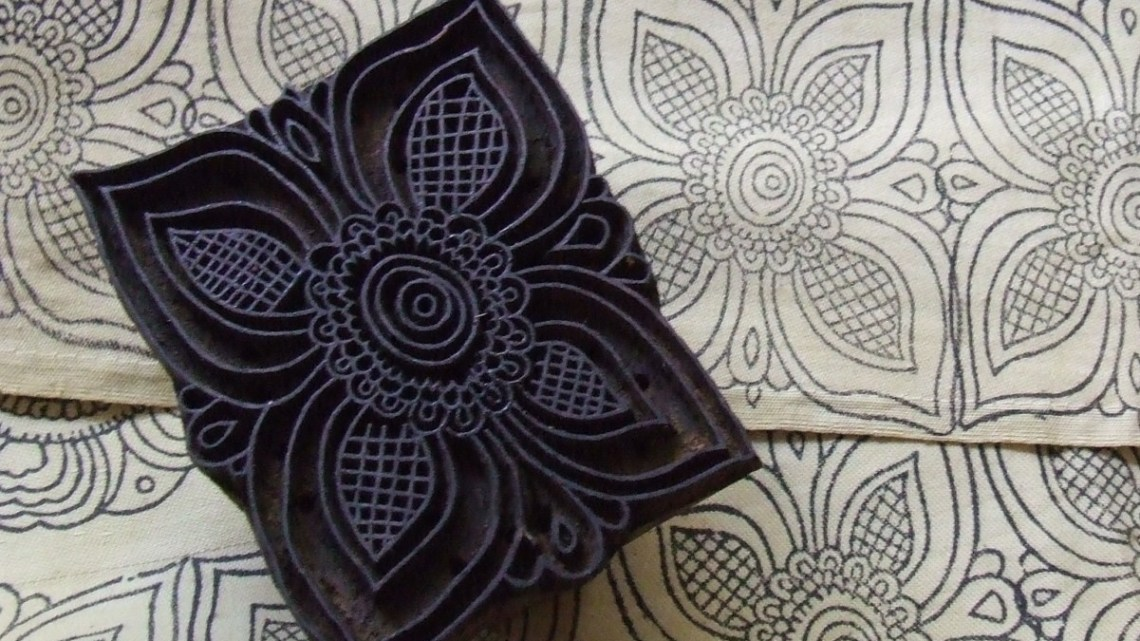 wood block carve printing