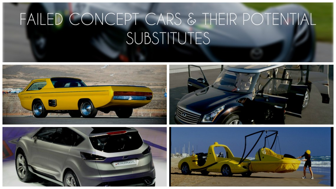FAILED CONCEPT CARS