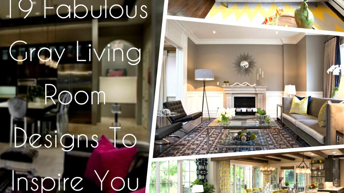 gray sofa living room decor ideas