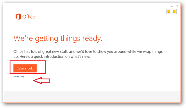 view office 2013 features