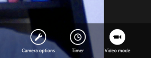 windows 8 camera app navigation tools