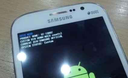 galaxy grand i9082 download mode screen