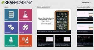 Khan Academy Windows 8 app