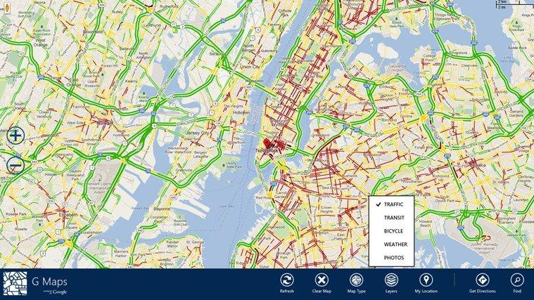 windows 8 G maps image