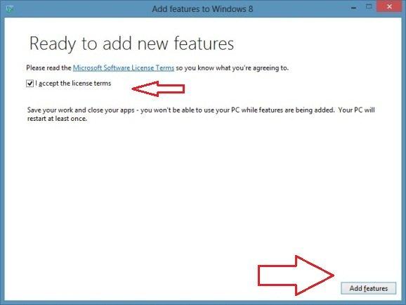 windows 8 upgrade process