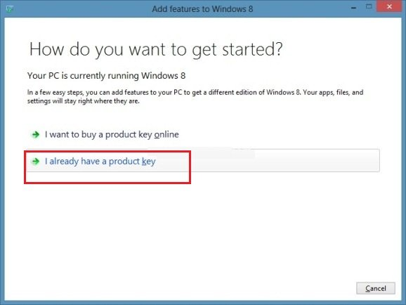 windows 8 upgrade and add new feature